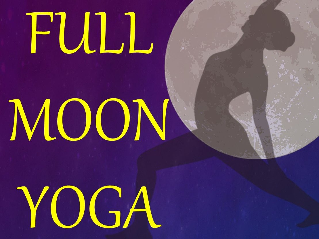 10/14(祝月) FULL MOON YOGA 開催!!